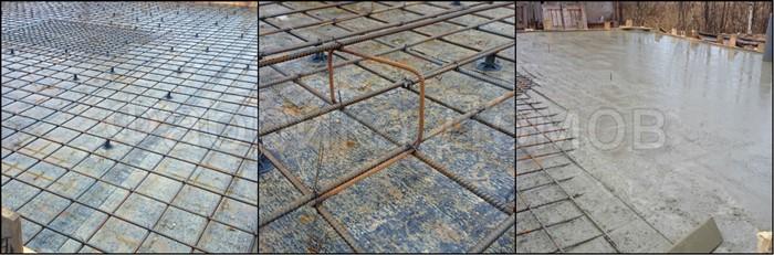 Фундамент под забор с кирпичными столбами цена в Балашихе