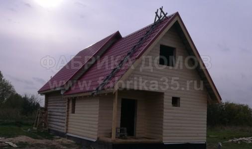 Строительство каркасного дома в д. Шалимово, Череповецкий район