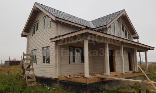 Строительство каркасного дома под крышу в д.Борисово, Череповецкий район