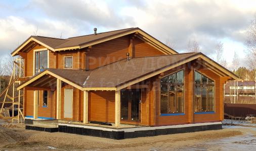Строительство деревянного дома в д.Городище, Череповецкий район
