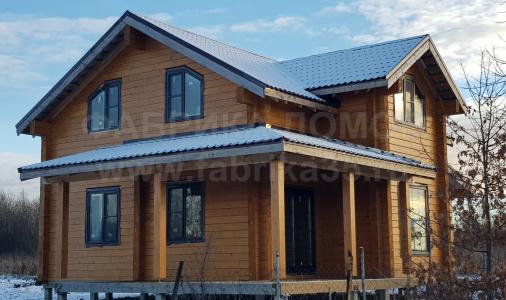 Строительство деревянного дома на ул. Старогритинская, Череповец