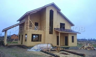 Строительство каркасного дома в д. Ванеево