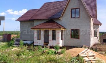 Строительство дома в п. Тоншалово