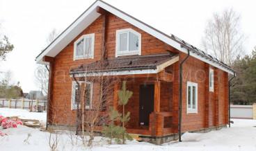 Строительство дома из сухого профилированного в д. Вичелово, Череповецкий район