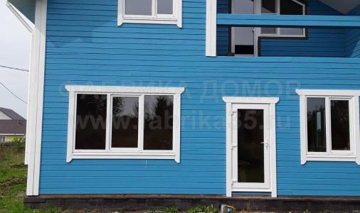 Строительство деревянного дома в д.Нова, Череповецкий район