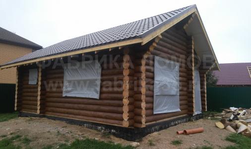 Строительство деревянной бани в д.Вичелово, Череповецкий район