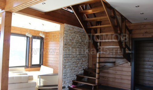 Дом из клееного профилированного бруса в д. Нова, Череповецкий район