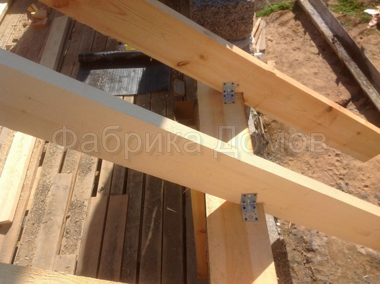 Стропильная система двухскатной крыши своими руками 88