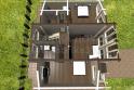 2 этаж - 3D вид